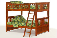 Double over Double Bunk Bed by BunkBedsCanada.ca