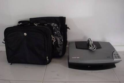Lexmark Printer and Two Laptop Bags