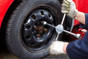 Mobile Tire Changing Service - Right in your Driveway/At Work!