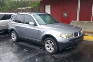 LOADED GREY 2005 BMW X3 2.5i AWD SUV!! PRICED TO SELL TONIGHT!!!