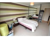 STUNNING 2 BEDROOM FLAT, FURNISHED WITH BALCONY 24 HOUR PORTER SERVICE IN Boardwalk Place, London