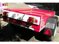 General purpose trailer ,all new wood ,lights camping building etc