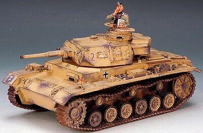 KING & COUNTRY AFRIKA KORPS AK050 WW2 GERMAN PANZER III TANK SET MIB
