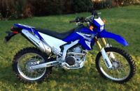 "WR250R Street Legal ""Looking for"""