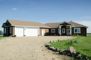 ☛FOR SALE! ☚ Beautiful 4 Bed Bungalow on Acreage in Leduc County Strathcona County Edmonton Area image 1