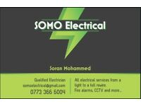 Electrician.. Qualified... CCTV and Fire Alarms
