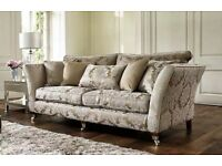 Complete Sofa Suite, retails at £3750 instore at Furniture Village, excellent condition.