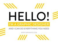Do you need help with any design project? Graphic designer