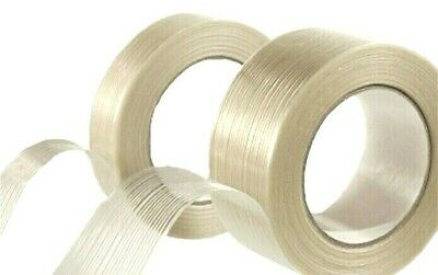 Fiberglass Filament Reinforced Tape 34 1 2 X 60 Yards Strapping Packaging