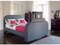 King size TV bed*TV included*Bought from dreams*