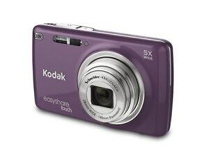 *NEW* Kodak EASYSHARE TOUCH M577 14.0 MP Digital Camera - Purple