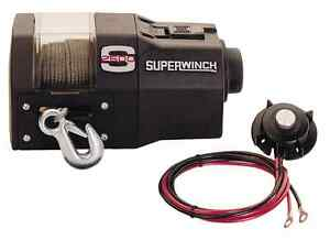 S2500 Electric Winch w/ Controller/Switch - 2500lbs