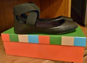 Brand New!! Designer Charles David Black Flats