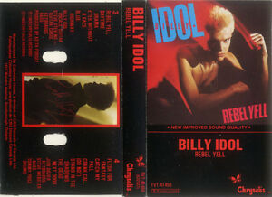 cassette - Billy Idol, Rebel Yell