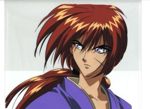 Rurouni Kenshin Samurai X Anime Japanese Artist Reproduction Cel Art