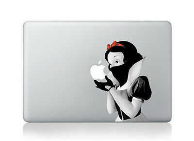 White Ninja (Snow White Ninja Revenge Assassin Sticker Vinyl Decal Macbook Air/Pro/Retina)