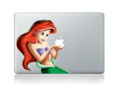 "Little Mermaid Princess Ariel Disney Sticker Decal Macbook Air/Pro/Retina 13"""