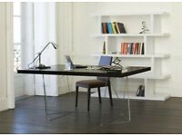Temahome Multi Office Table in Wenge With Trestle Legs RRP £340 50% OFF