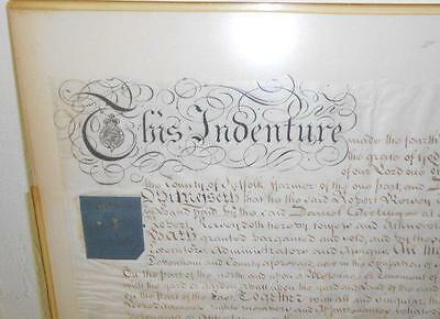 18th century INDENTURE Vellum British 1794 KING GEORGE III County of Suffolk