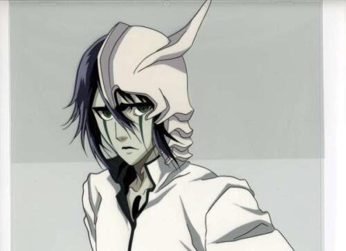 Bleach Ulquiorra Cifer Anime Pro Japanese Artist Reproduction Cel Art