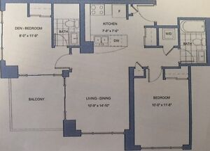 Bay & Wellesley: Two Bedroom Unit Available October 15th