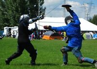 Swordfighting, Self Defense, Hand to Hand and More!!