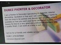 DUBEZ PAINTER & DECORATOR