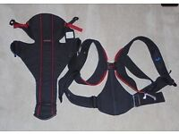 Baby Bjorn Black & Red Baby Pouch / Carrier