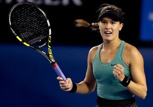 Rogers Cup WTA 217 Eugenie Bouchard Parking 117 Front Row
