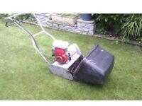 Honda petrol cylinder lawnmower