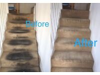 Carpet Cleaning-Sofa Cleaning £40 minimum calling out charge Leytonsyone,Ilford,Romford,Chigwell,Bow