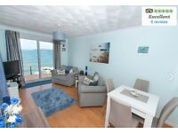 Stunning sea view 2 bedroom Plymouth Devon March availability only £299 LAST MINUTE