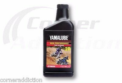 Yamalube 2R 2 Stroke High Performance Racing Oil 12 -32 oz Bottles, 12 Quarts
