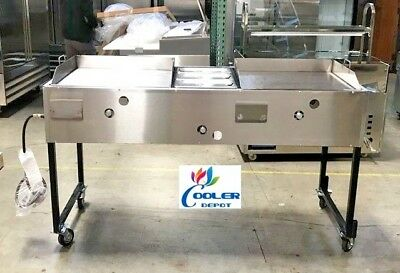New 66 Taco Cartshot Dog Burger Friescomal Commercial Model G24w1g24 Catering