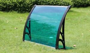 "30""*40"" Polycarbonate Awning Canopy Window 190122"