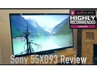 "Sony Bravia 3D led ultra 4K HD TV55"" inch"
