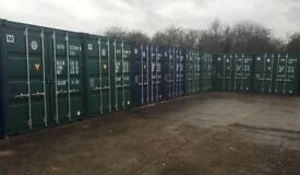 20 ft or 10ft storage containers to rent shed garage workshop from £100 a month