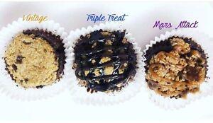 Crownie fusion cupcake (cookie + brownie)