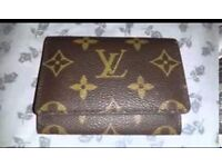 Louis Vuitton lv card holder with box