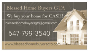 CASH for your home!