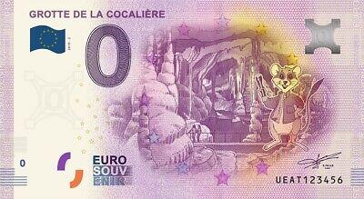 Billet Touristique 0 Euro - Grotte de la Cocalière - 2019-2