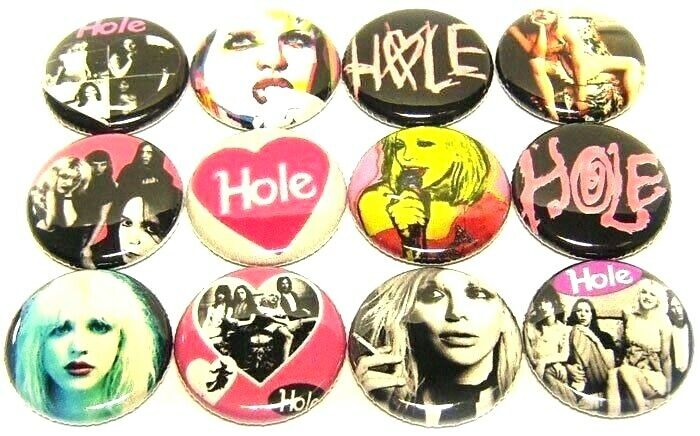 """lp patch GRUNGE 1/"""" PINS BUTTONS w// NIRVANA SOUNDGARDEN ALICE IN CHAINS /& MORE"""
