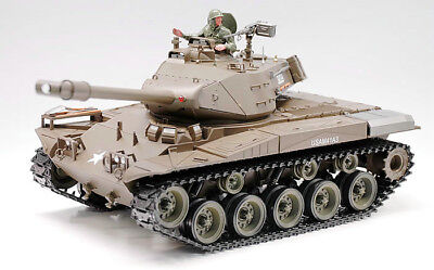 SALE UPGRADED TWIN SOUND 2.4GHZ HENG LONG RC WALKER BULLDOG BATTLE TANK MODEL for sale  Shipping to Ireland