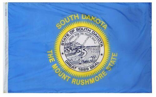 SOUTH DAKOTA STATE OF FLAG  NEW 3x5 ft better quality USA seller