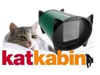 Green Standard Katkabin outdoor Cat Shelter/House