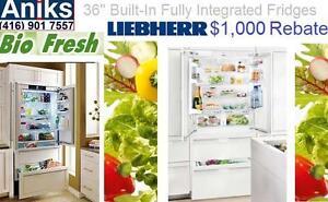 https://aniks.ca/ Liebherr HC2062 36in Built-in Fully Integrated French Door Refrigerator