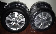 4x BRAND NEW BRIDGESTONE TURANZA ER370 TYRES AND ALLOY WHEELS St Ives Chase Ku-ring-gai Area Preview