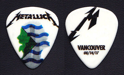 Metallica James Hetfield Vancouver 8/14/17 Guitar Pick - 2017 WorldWired Tour