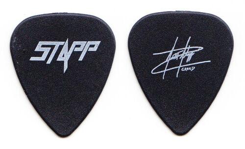 Creed Scott Stapp Signature Promotional Black Guitar Pick