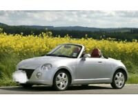 For sale a daihatsu copen 650cc turbo k car 12 moths mot clean in and out low miles part history